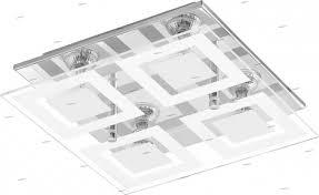 Настенно-потолочный <b>светильник</b> белый GU10 <b>Eglo Almana 94226</b>