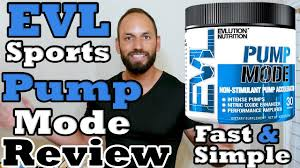 Evlution Nutrition |<b>Pump Mode</b>| EVL Sports Review - YouTube