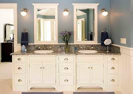 built bathroom vanity design ideas: hand made bathroom vanity and linen cabinet by edko cabinets llc