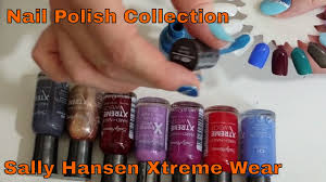 Nail polish collection Part 1 | <b>Sally Hansen Xtreme wear</b> wheel ...