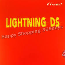 <b>61second Lightning</b> DS NON TACKY pips in table tennis pingpong ...