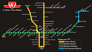 How I See The TTC Subway Map : toronto toronto subway map