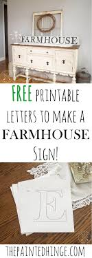 best ideas about making signs diy signs paint printable letters to make a farmhouse sign