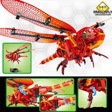 <b>sembo</b> dragonfly diy daxie flying insect building blocks bricks toys ...