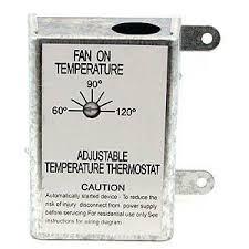 similiar attic fan speed control switch keywords attic fan thermostat control by nutone inc 13 05 automatically