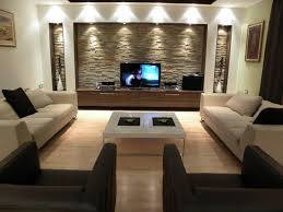best modern living room designs: living room design with placement tv at center place ideal best living room tv decorating