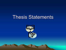 research paper Custom  middot  Thesis Statements A thesis statement declares what you believe and SlidePlayer