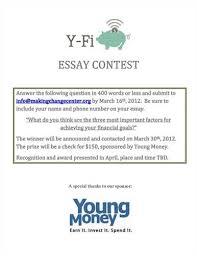 thomas paine essay    Bradford  th grader wins Money Smart Essay Contest