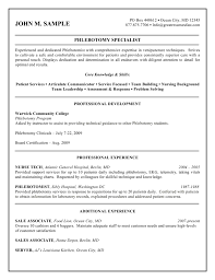 Federal Job Resume Sample  resume samples   uva career center     happytom co Phlebotomy Specialist Of The Federal Style Resume With Patient       federal job resume