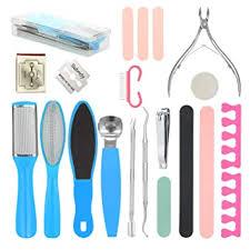 20PCS <b>Pedicure</b> Tools Kit,Anself Inpher Stainless Steel <b>Foot</b> ...