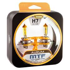 Купить <b>MTF Light</b> HAU1207 <b>Лампочка H7</b> 3000K 12V 55W в Казани