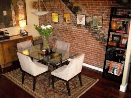The Brick Dining Room Furniture How To Decorate A Brick Wall Room Design Plan Cool With How To
