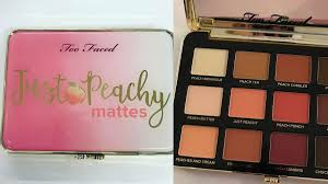 <b>Too Faced Just</b> Peachy Mattes Palette Photos are Finally Here | Allure