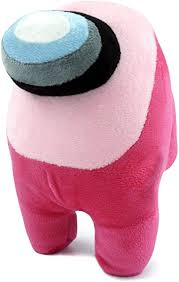 Among Us Crewmate Stuffed Plush Toy | Pink | 8 Inch ... - Amazon.com