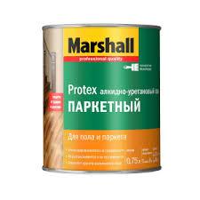 MARSHALL <b>PROTEX</b> ПАРКЕТНЫЙ <b>лак алкидно</b>-<b>уретановый</b> для ...
