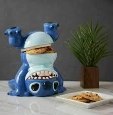 """Disney '<b>Lilo</b> &' STITCH <b>Cookie</b> Jar 9"""" Handstand Upside Down NEW ..."""