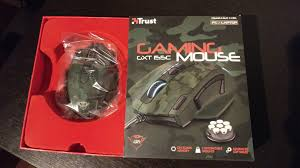 <b>Trust GXT 155c</b> Green Camouflage Gaming Mouse Review | Black ...