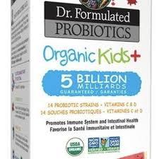 Garden of Life <b>Dr</b>. <b>Formulated Probiotics Organic</b> Kids+ 5 Billion No ...