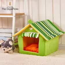 dope <b>Striped Removable</b> Cover Mat <b>Dog House Dog</b> Beds For ...