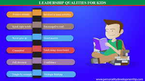 leadership qualities for kids personality development tips leadership qualities for kids