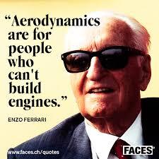 Enzo Ferrari – Aerodynamics are for people -. Letzter Artikel · Nächster Artikel