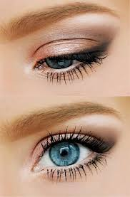 try this natural eye makeup look to make your blue eyes subtly pop go to beauty for all your makeup needs