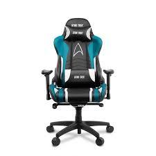 Геймерское <b>кресло Arozzi Gaming Chair</b> - Star Trek Edition - Blue ...