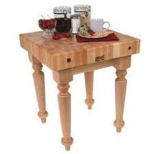 ampamp prep table: john boos boosblock butcher block prep table size quot w x quot d