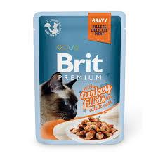 Купить со скидкой <b>Паучи Brit Premium</b> Gravy Turkey fillets для кошек