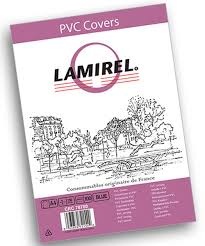 <b>Lamirel</b> LA-78780 <b>Transparent A4</b>, Blue <b>обложка</b> для переплета ...