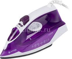 Купить <b>Утюг VITEK VT-8308 VT</b>, фиолетовый в интернет ...