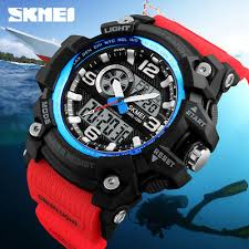 <b>SKMEI</b> Sports Quartz Watch 3 Time 50m Waterproof <b>Men Women</b> ...
