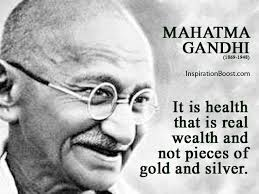 Mahatma Gandhi Quotes with Wallpapers - Inspirational Messages Images via Relatably.com