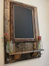 glue a chalkboard to a slab of wood and hang it in your home for forget me nots barn wood ideas