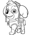 Раскраски щенячий патруль раскрасить