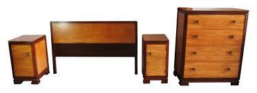 bedroom set main: donald deskey for amodec american art deco bedroom set