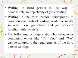 how to write a research paper in the third person how to write a research paper in the third person created by essay academycom