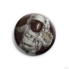 """<b>Значок</b> маленький """"<b>Космонавт</b>"""" (арт. 104) Шукай сваё : купить в ..."""
