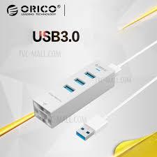 Fashionable <b>ORICO ASH3L</b>-<b>U3</b>-<b>SV</b> Aluminum <b>3</b> USB3.0 <b>Ports</b> Hub ...