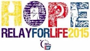 Join Relay For Life 2015~ This Saturday and Sunday