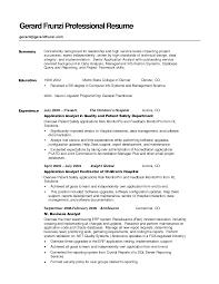 good cv summary sample resume for senior hr manager example of professional example of professional summary for resume