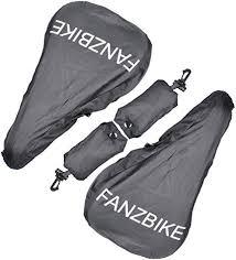 Fanzbike <b>Waterproof</b> Bike <b>Saddle Cover</b> in Black, Bicycle <b>Seat Rain</b>