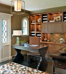 kitchen cabinets home office transitional: credenza desk home office transitional with addition arched window architecture built in cabinets cabinet lighting