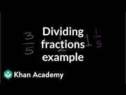 Dividing fractions: 3/5 ÷ <b>1/2</b> (video) | Khan Academy