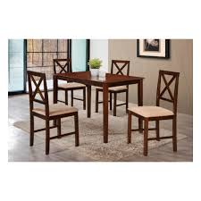 <b>Обеденный комплект Tetchair</b> Хадсон (стол + 4 стула ...