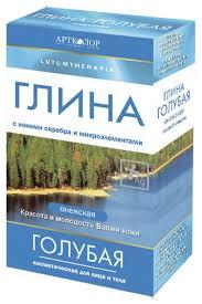 <b>Lutumtherapia глина косметическая голубая</b> онежская 100 г