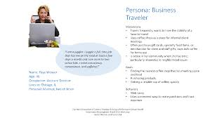 customer journey map template starbucks persona faye