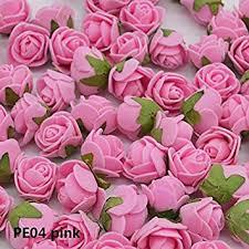 Buy Petsdelite Pe04: <b>72Pcs</b>/<b>Lot</b> 2Cm Mini <b>Pe</b> Foam <b>Rose Flower</b> ...