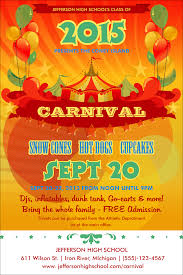 poster carnival poster
