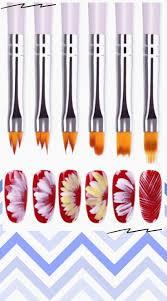 <b>BORN PRETTY</b> Acrylic Manicuring <b>Brush</b> For Nail Art Painting ...